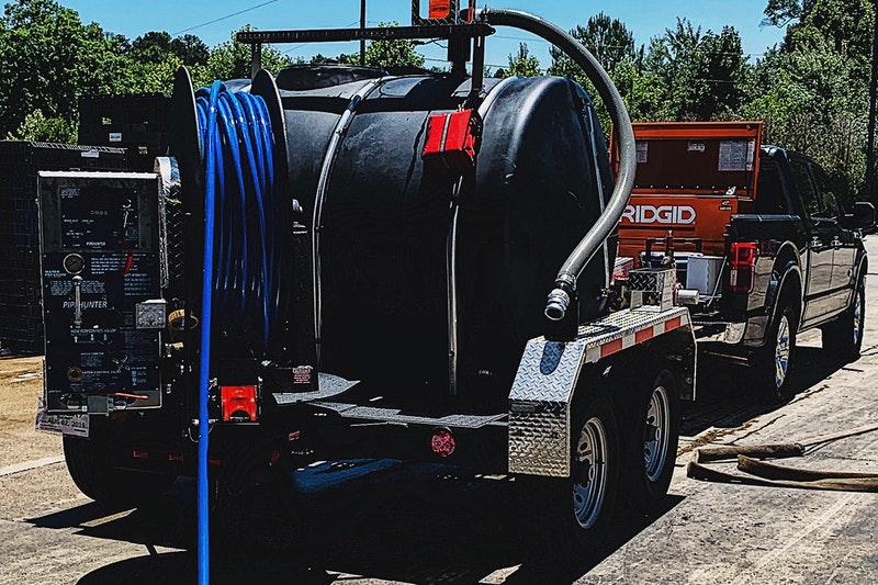 502 Equipment PipeHunter Jetter Trailer Tank