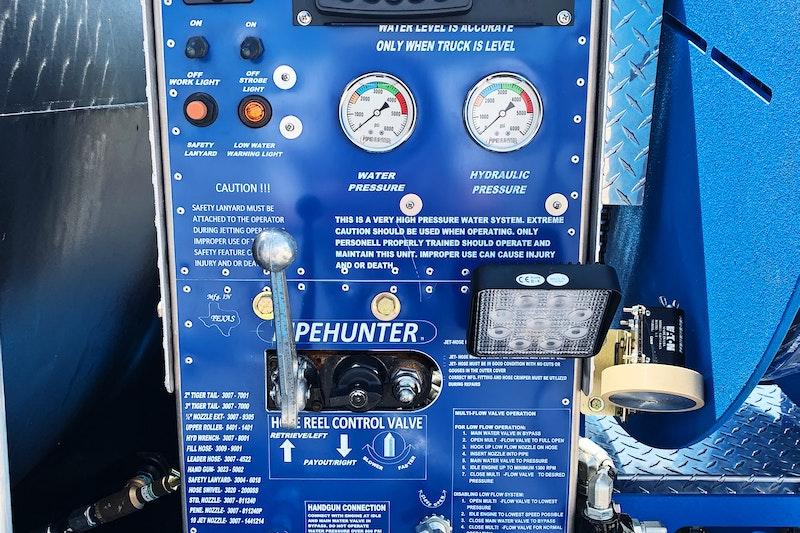 502 Equipment PipeHunter Jetter Trailer Component