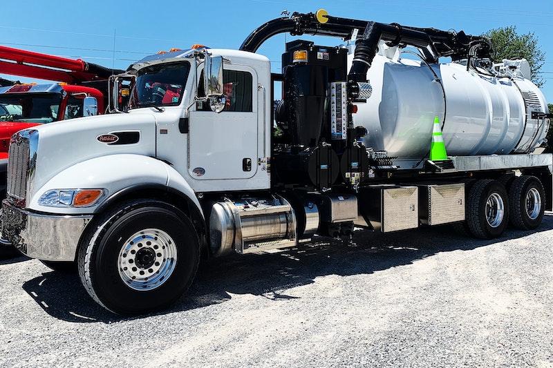 502 Equipment GapVax VHE Truck