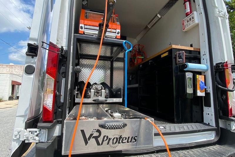 502 Equipment Proteus Transit Van 3