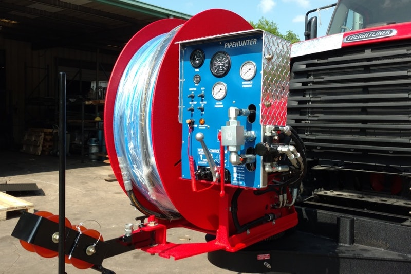 502 Equipment Pipehunter Truck Mounted Jetter